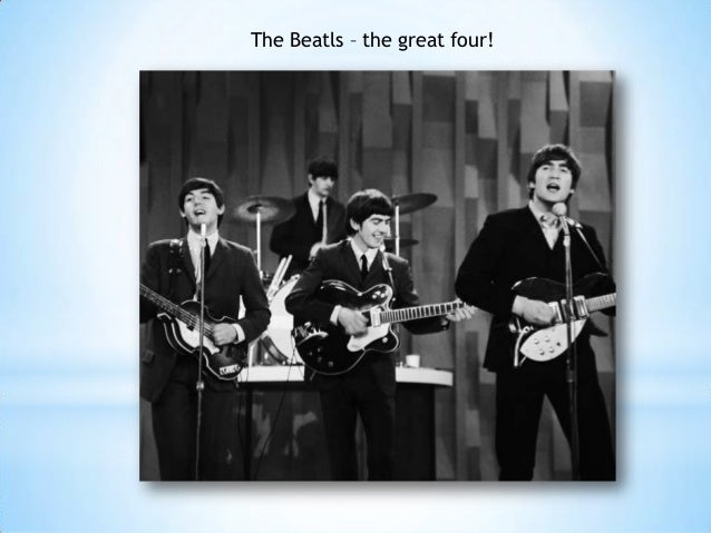 The Beatls – the great four!