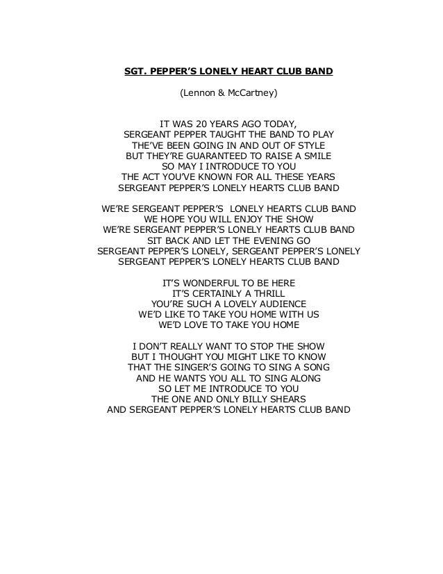 Lyric let it be the beatles lyrics : The beatles.1967 1970 - Letras canciones