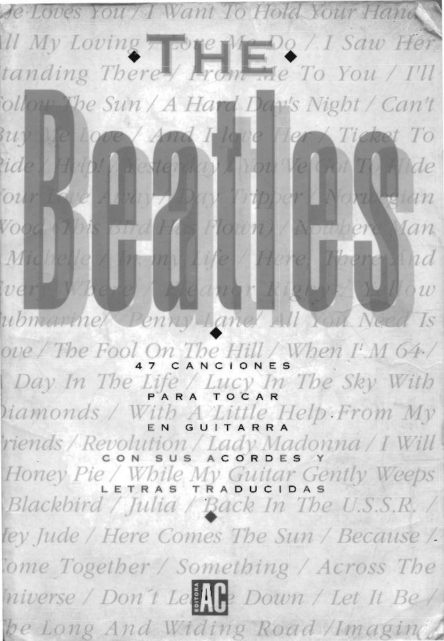 The beatles   47 canciones para guitarra