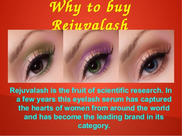 Whytobuy Rejuvalash Rejuvalash is the fruit of scientific research. In a few years this eyelash serum has captured the ...