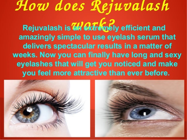 HowdoesRejuvalash work?Rejuvalash is an extremely efficient and amazingly simple to use eyelash serum that delivers spe...