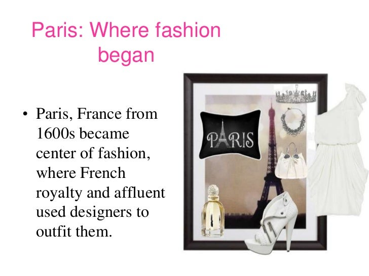 The beauty of fashion ppt