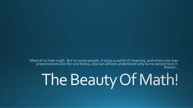 Beauty Of Math Quotes Sayings Postcard