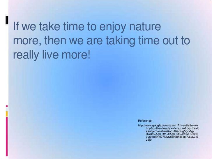 The Beauty Of Nature.ppt.christina