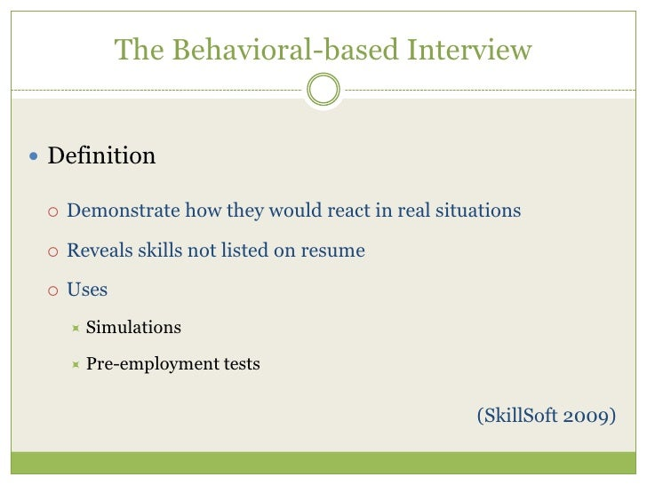 How To Answer Behavioral Based Interview Questions. Sample Behavioral Based Interview  Questions ...