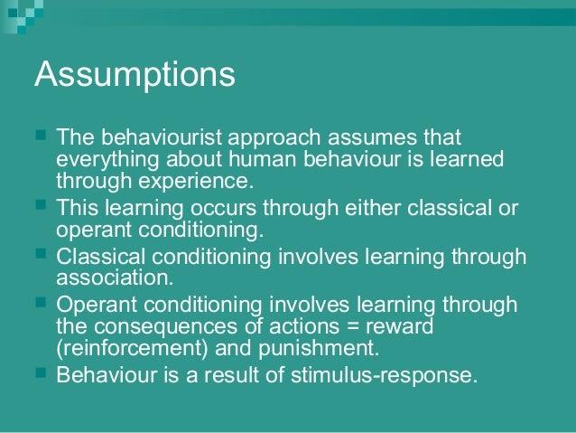 PSYA2 - The Behaviourist Approach Slide 3