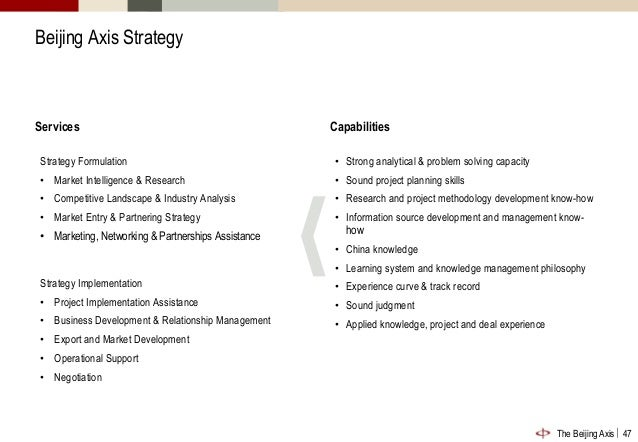 sound strategic research and analytical skills Competency framework  at the oecd, each job falls under one of the three job families: executive leadership, policy research, analysis and advice, and corporate management and administration executive leadership  analytical thinking is the ability to identify patterns across situations that are not obviously.