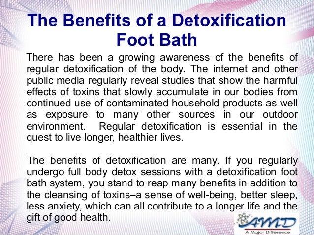 Detox machine benefits