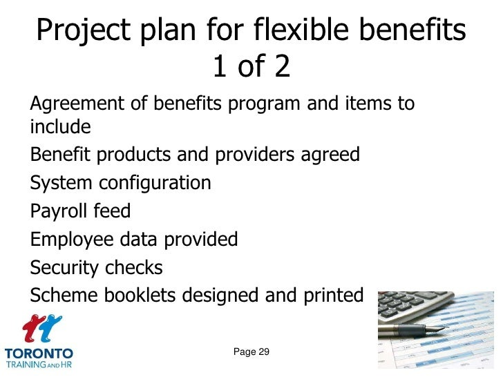 evaluation of flexible benefit plans Information on flexible benefits for excluded employees  which benefit plans to participate in  the flexible benefit plan design has changed for plan year.