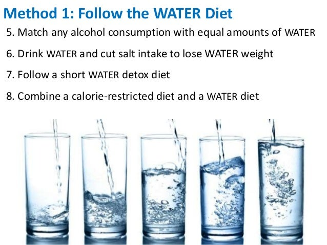 3-Day Water Diet Information