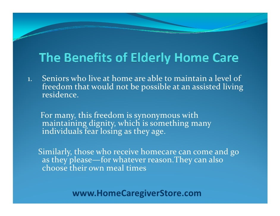 care of the elderly Families or others involved with an elderly person must recognize the all too common attitude of worthlessness, defeat and resignation from elderly.