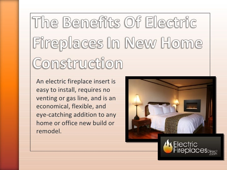 An electric fireplace insert is easy to install, requires no venting or gas line, and is an economical, flexible, and eye-...