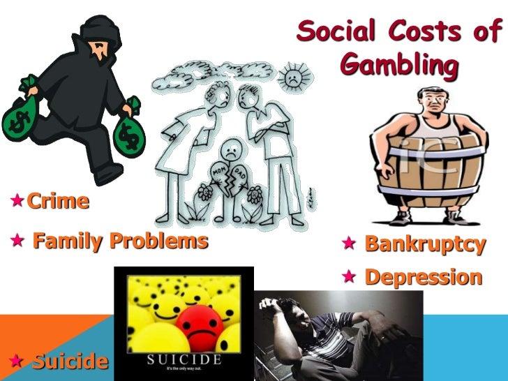 Gambling costs casino bar set
