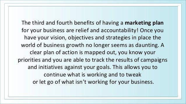 benefits of a marketing plan for Benefits of swot analysis  benefits of a swot analysis  many firms consider swot analysis an effective tool for analyzing marketing data and information.