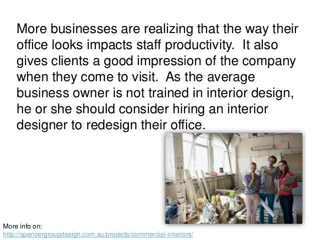 The Benefits Of Hiring An Interior Designer To Redesign An Office