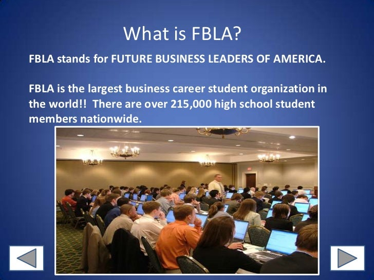 what does fbla stand for