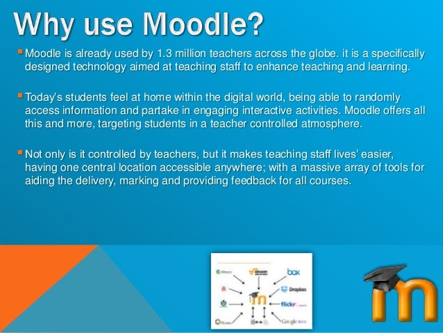 The benefits of moodle how to engage teaching staff
