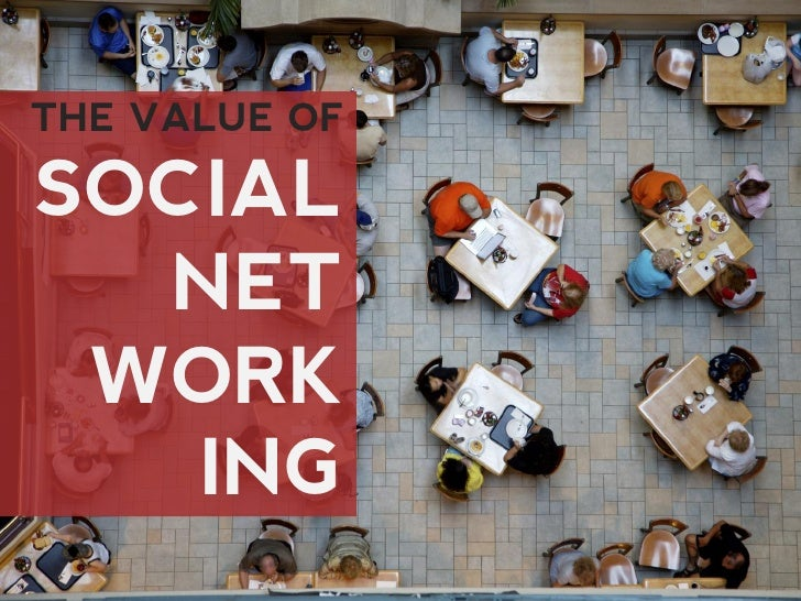 THE VALUE OF  SOCIAL   NET  WORK    ING