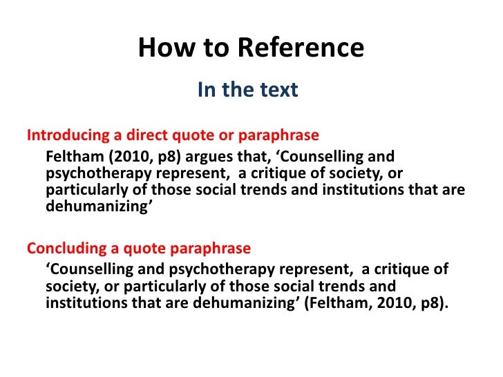 How to Write & Reference an Essay