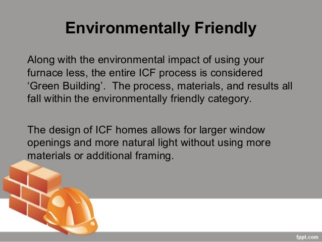 The benefits of using insulated concrete forms