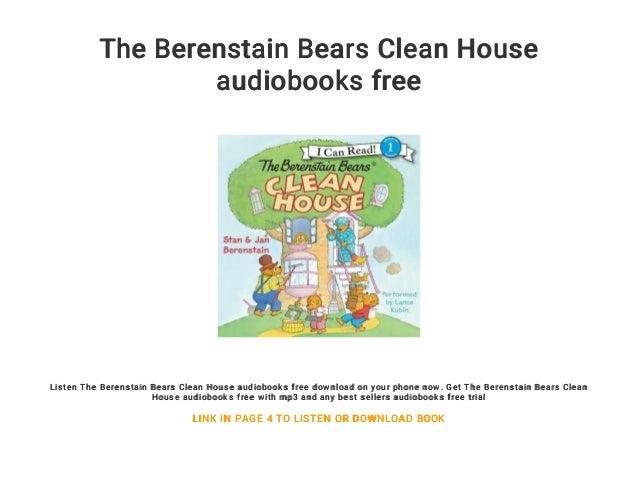 Berenstain bears free pdf