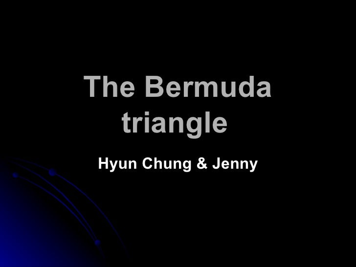 The Bermuda triangle   Hyun Chung & Jenny