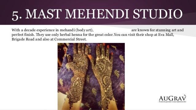 Bridal Mehndi Artist In Bangalore : The best bridal mehandi artists in bangalore