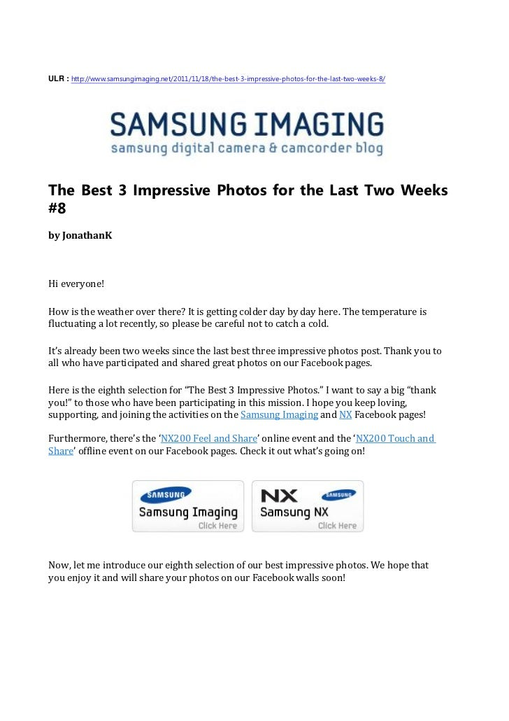 ULR : http://www.samsungimaging.net/2011/11/18/the-best-3-impressive-photos-for-the-last-two-weeks-8/The Best 3 Impressive...