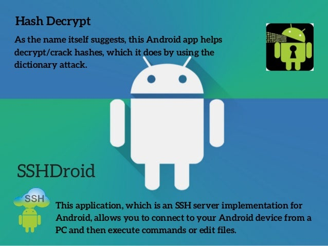 The best android hacking apps and tools of 2018