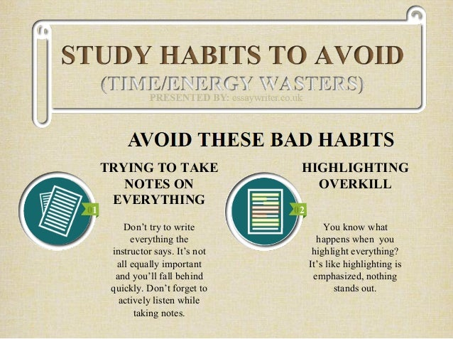 Best & the Worst Study Habits for all Types of Learners ...