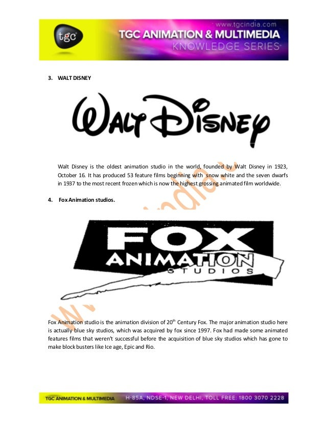The  best animation studios in the world Slide 2