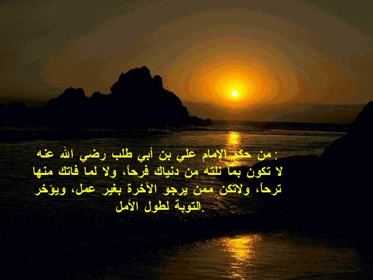 The Best Arabic Wise Quotes Slide 3