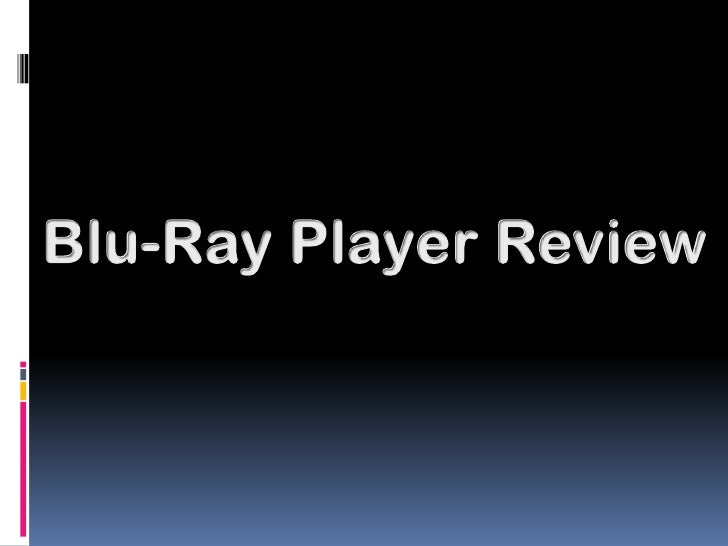 CHOOSING A BLU-RAY DISC PLAYER You need Blu-ray disc player to be able to play a  Blu-ray Disc, which is an optical disc ...