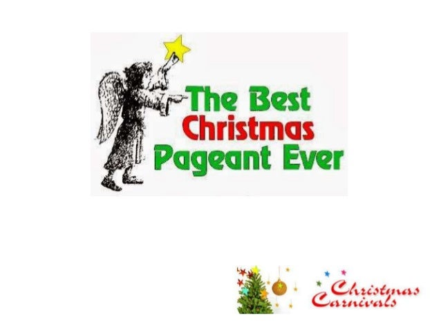 The best christmas pageant ever script