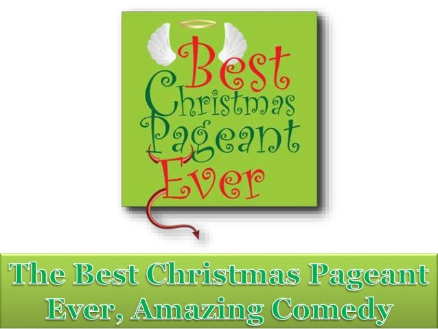 the seattle times 2 - Best Christmas Pageant Ever Script