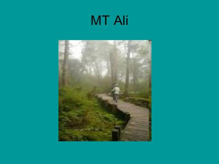 MT Ali