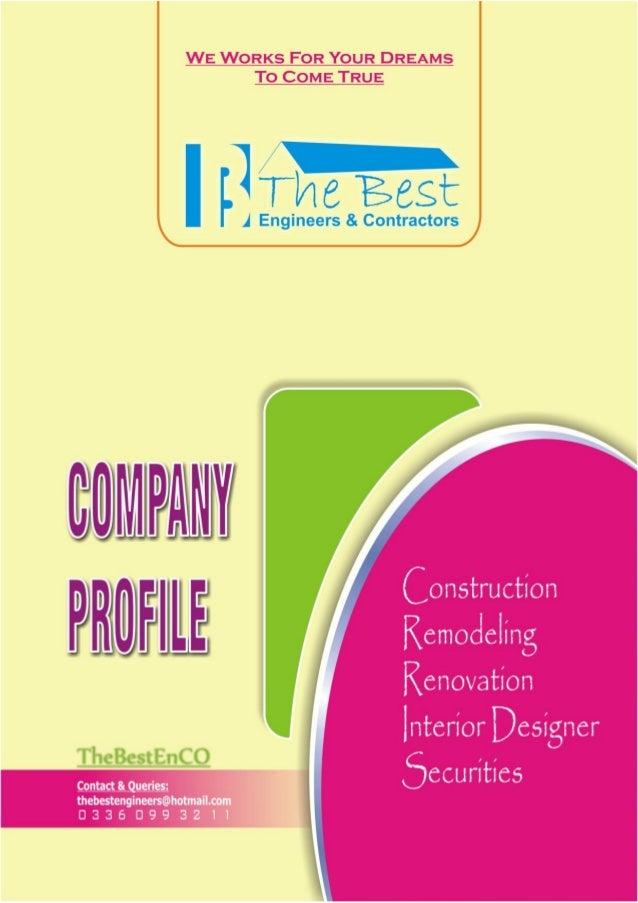 TheBestEnCo (The Best Engineers & Contractors) Company Profile