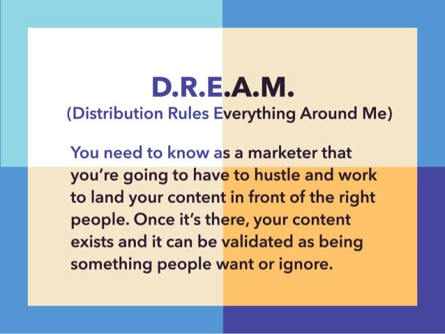 """I7 l7 ls  V V 7 %. t'1""""l. —'. .<' . I ll""""  (Distribution Rules Everything Around Me)  You need to know as a marketer that ..."""