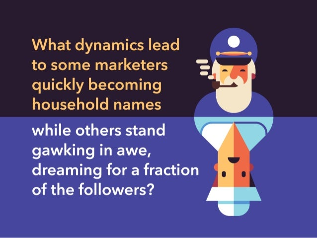 What dynamics lead 'L to some marketers ':  quickly becoming household names  while others stand gawking in awe,  dreaming...