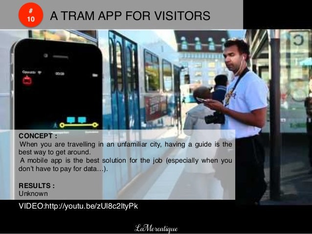 #!    !    10!   !A TRAM APP FOR VISITORS!!CONCEPT :!! When you are travelling in an unfamiliar city, having a guide is th...