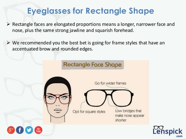 94976d47835 6. Eyeglasses for Rectangle Shape  Rectangle faces ...