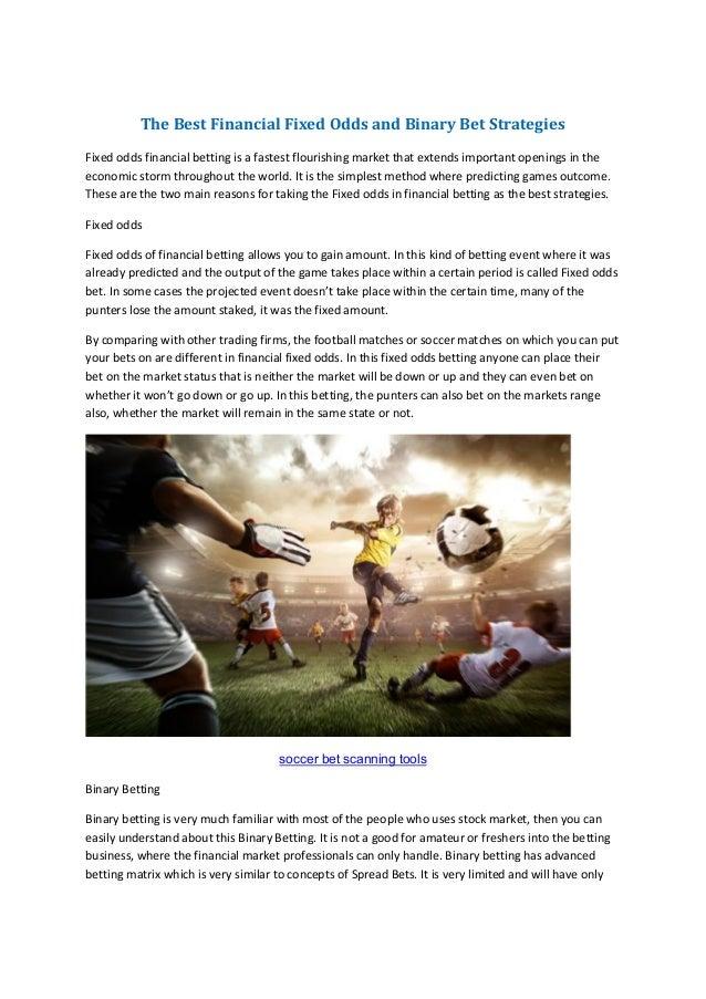 Winning Spread Betting Strategies Pdf