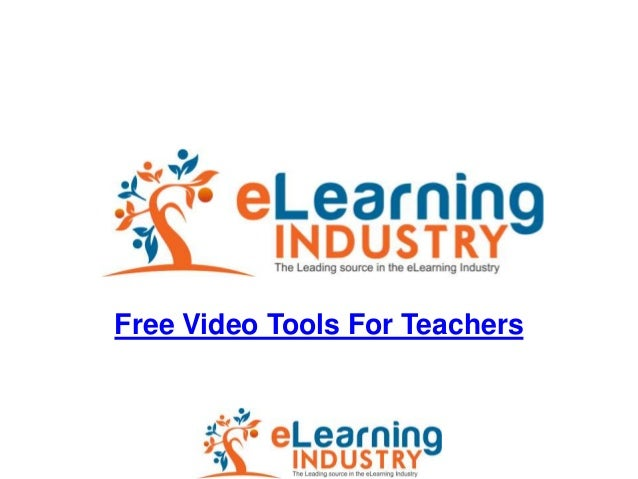 Free Video Tools For Teachers