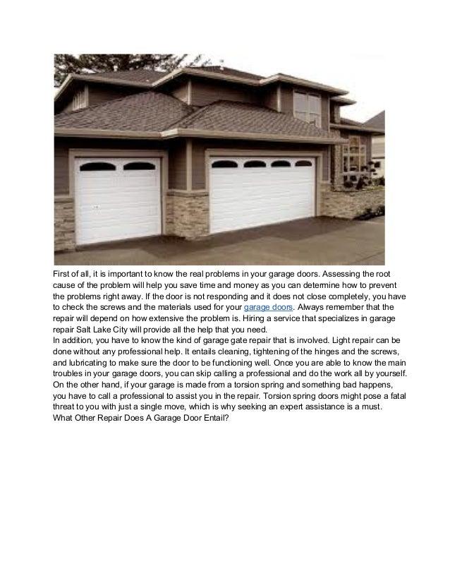 The best garage door repair salt lake city for Garage door repair salt lake city