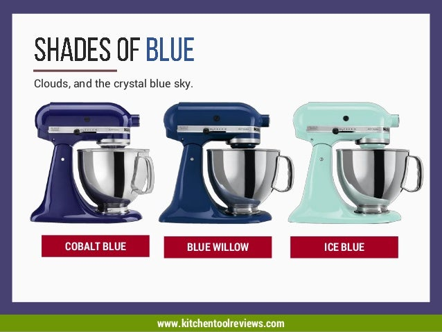The Best Kitchen Aid Mixer Colors