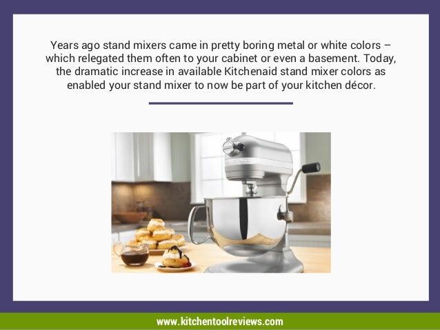 the best kitchen-aid mixer colors
