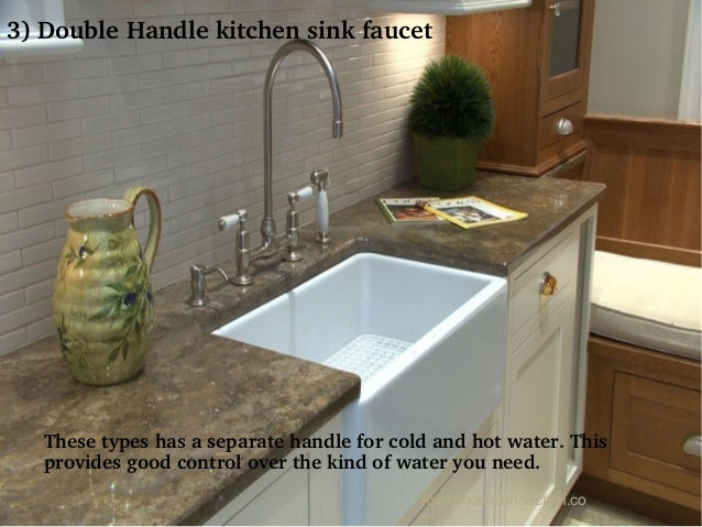 m 9 3 double handle kitchen sink faucet these types