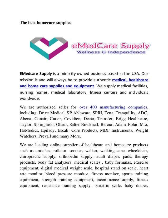 The best medical equipment supplier