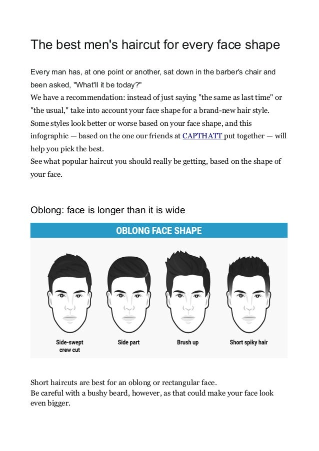 The Best Men S Haircut For Every Face Shape
