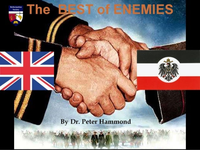 The BEST of ENEMIES By Dr. Peter Hammond